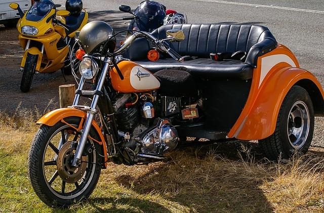driewieler motorrij bewijs